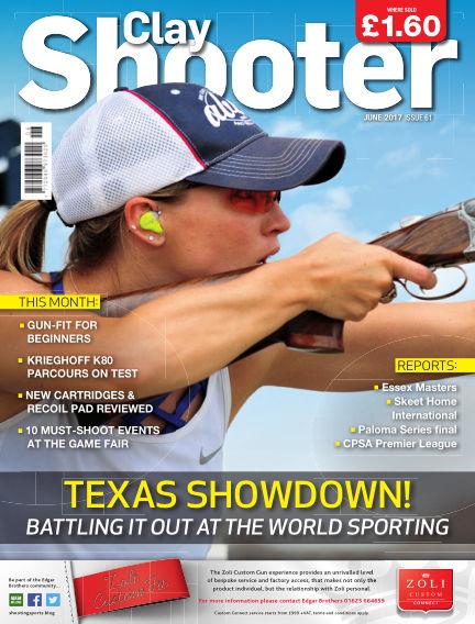 Clay Shooter May 17, 2017 00:00