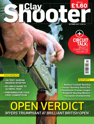 Clay Shooter October 2017