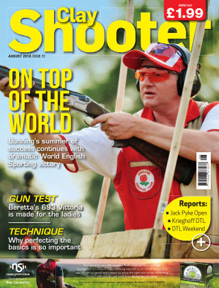 Clay Shooter August 2018