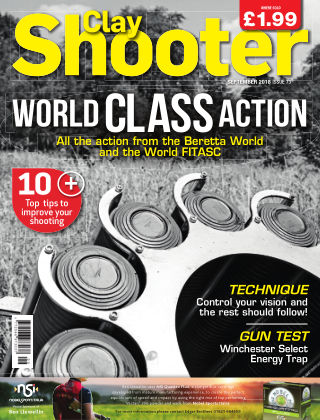 Clay Shooter September 2018