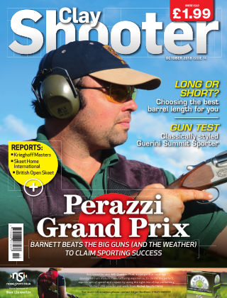 Clay Shooter October 2018