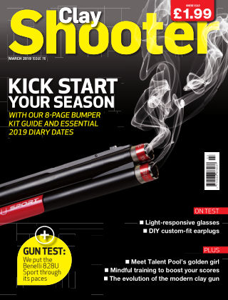 Clay Shooter March 2019