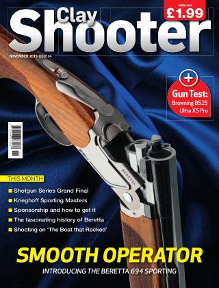 Clay Shooter November 2019
