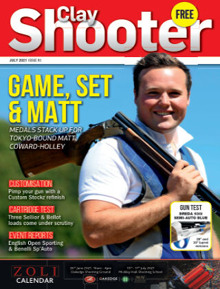 Clay Shooter July 2021