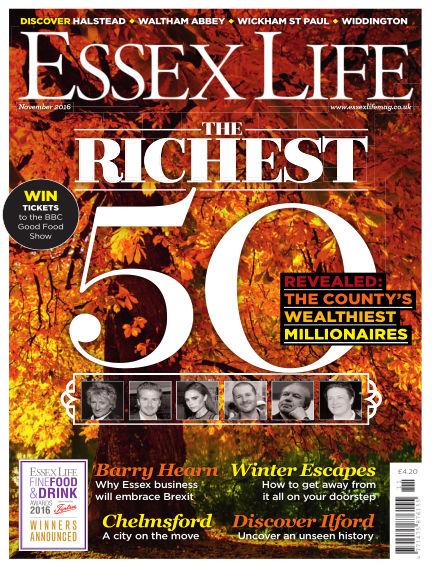 Essex Life October 14, 2016 00:00