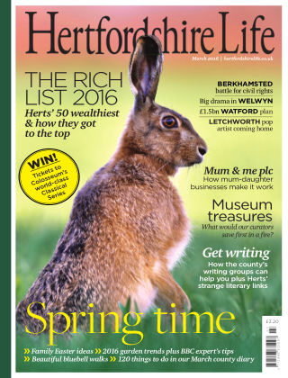 Hertfordshire Life March 2016