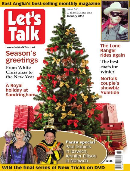 Let's Talk December 09, 2015 00:00