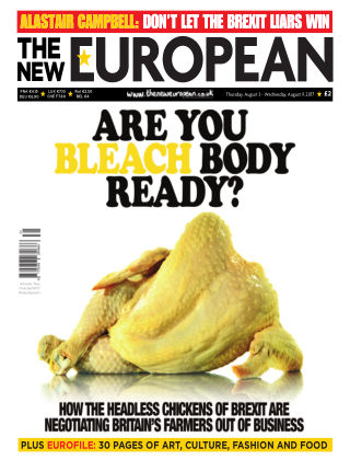 The New European Issue 56 - 03/08/17