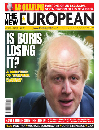 The New European Issue 60 - 31/08/17