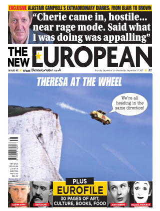 The New European Issue 63 - 21/09/17
