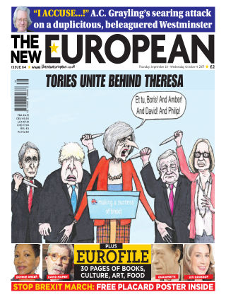 The New European Issue 64 - 28/09/17