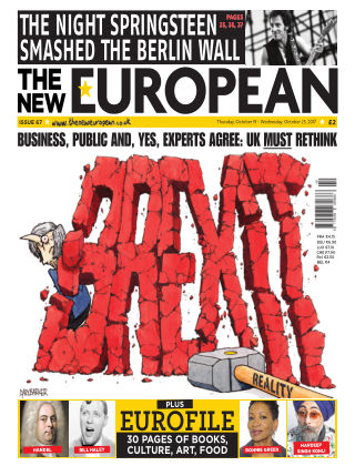 The New European Issue 67 - 19/10/17