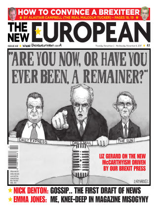 The New European Issue 69 - 02/11/17