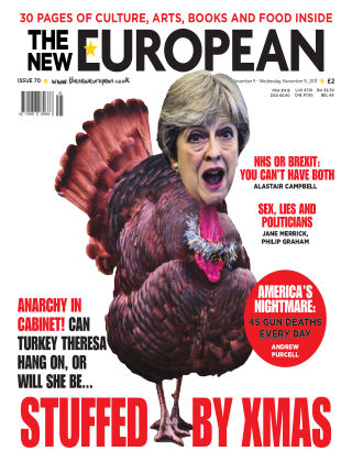The New European Issue 70 - 09/11/17