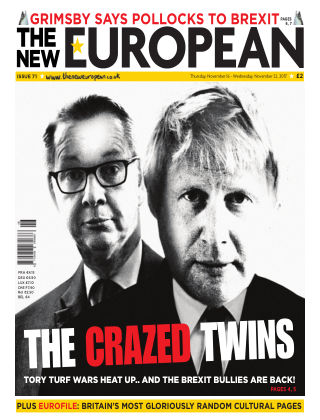 The New European Issue 71 - 16/11/17