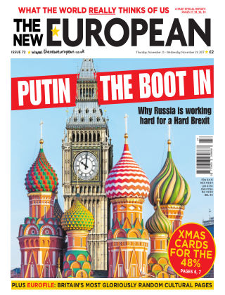 The New European Issue 72 - 23/11/17