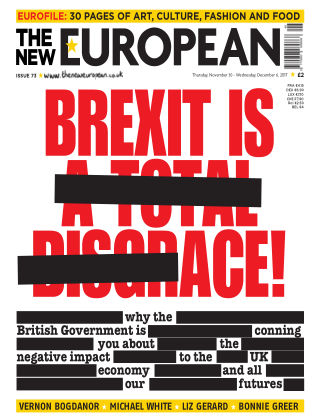 The New European Issue 73 - 30/11/17