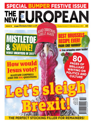 The New European Issue 76 - 21/12/17