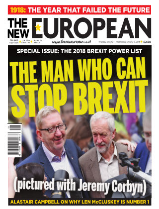 The New European Issue 77 - 04/01/18