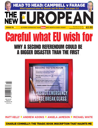 The New European issue 79 - 18/01/18