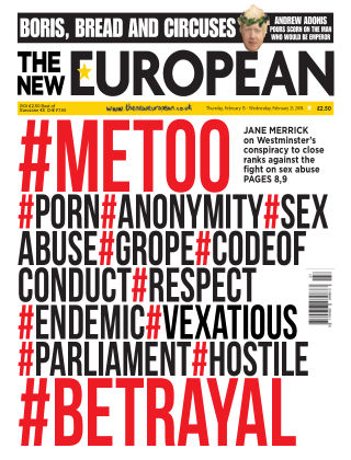 The New European Issue 83 - 15/02/18