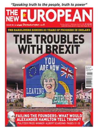 The New European Issue 86 - 08/03/18