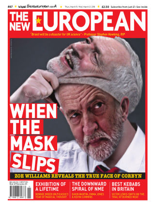 The New European Issue 87 - 15/03/18