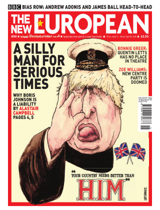 The New European Issue 90 - 12/04/18
