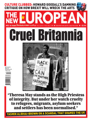 The New European Issue 92 - 26/04/18