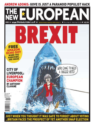 The New European Issue 96 - 24/05/18
