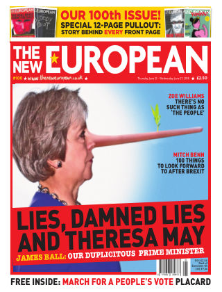The New European Issue 100 - 21/06/18