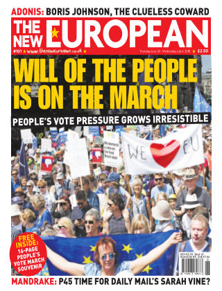 The New European Issue 101 - 28/06/18