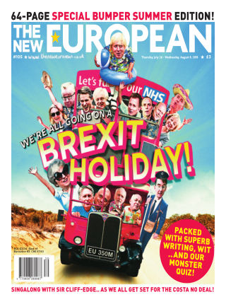 The New European Issue 105 - 26/07/18