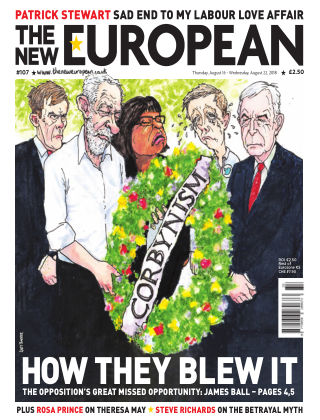 The New European Issue 107 - 16/08/18