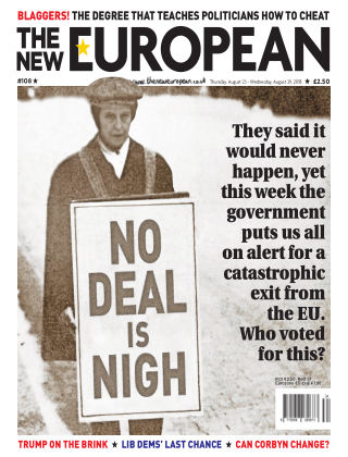 The New European Issue 108 - 23/08/18