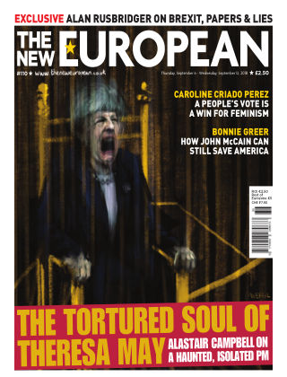 The New European Issue 110 - 06/09/18