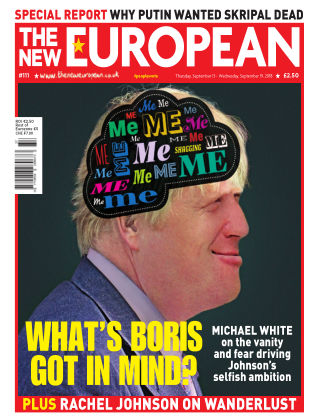 The New European Issue 111 - 13/09/18
