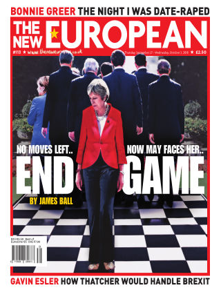 The New European Issue 113 - 27/09/18