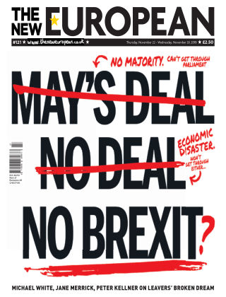 The New European Issue 121 - 22/11/18