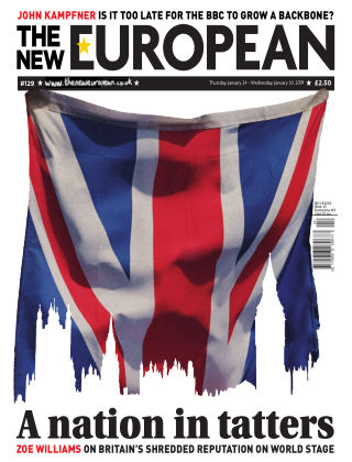 The New European Issue 129 - 24/01/19