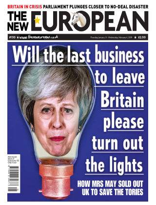 The New European Issue 130 - 31/01/19