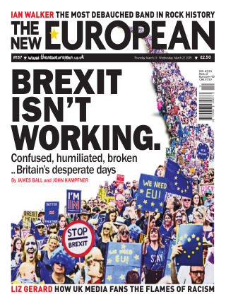 The New European Issue 137 - 21/03/19