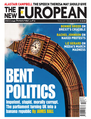 The New European Issue 139 - 04/04/19