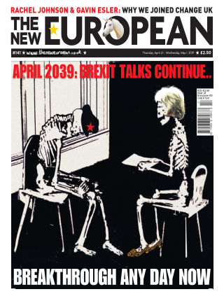 The New European Issue 141 - 25/04/19