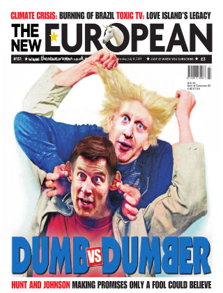 The New European Issue 151 - 04/07/19