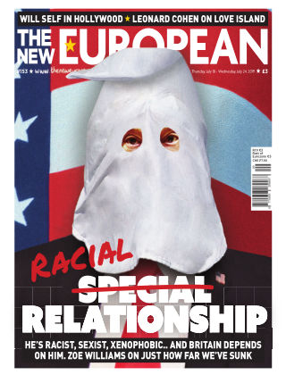 The New European Issue 153 - 18/07/19