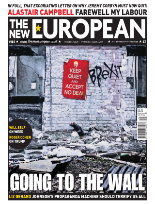 The New European Issue 155 - 01/08/19