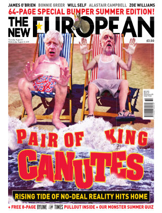 The New European Issue 156 - 08/08/19