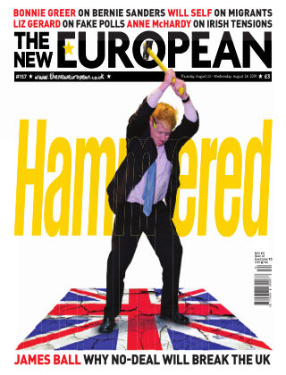 The New European Issue 157 - 22/08/19