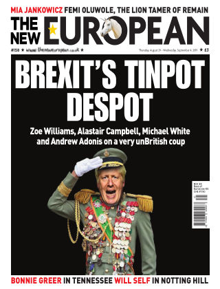 The New European Issue 158 - 29/08/19